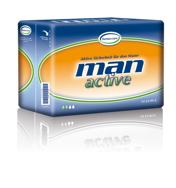 incontinence pad for man